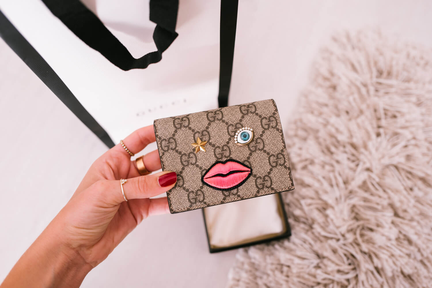 9bd91c1bf182 Bought this cutie yesterday – Gucci wallet.