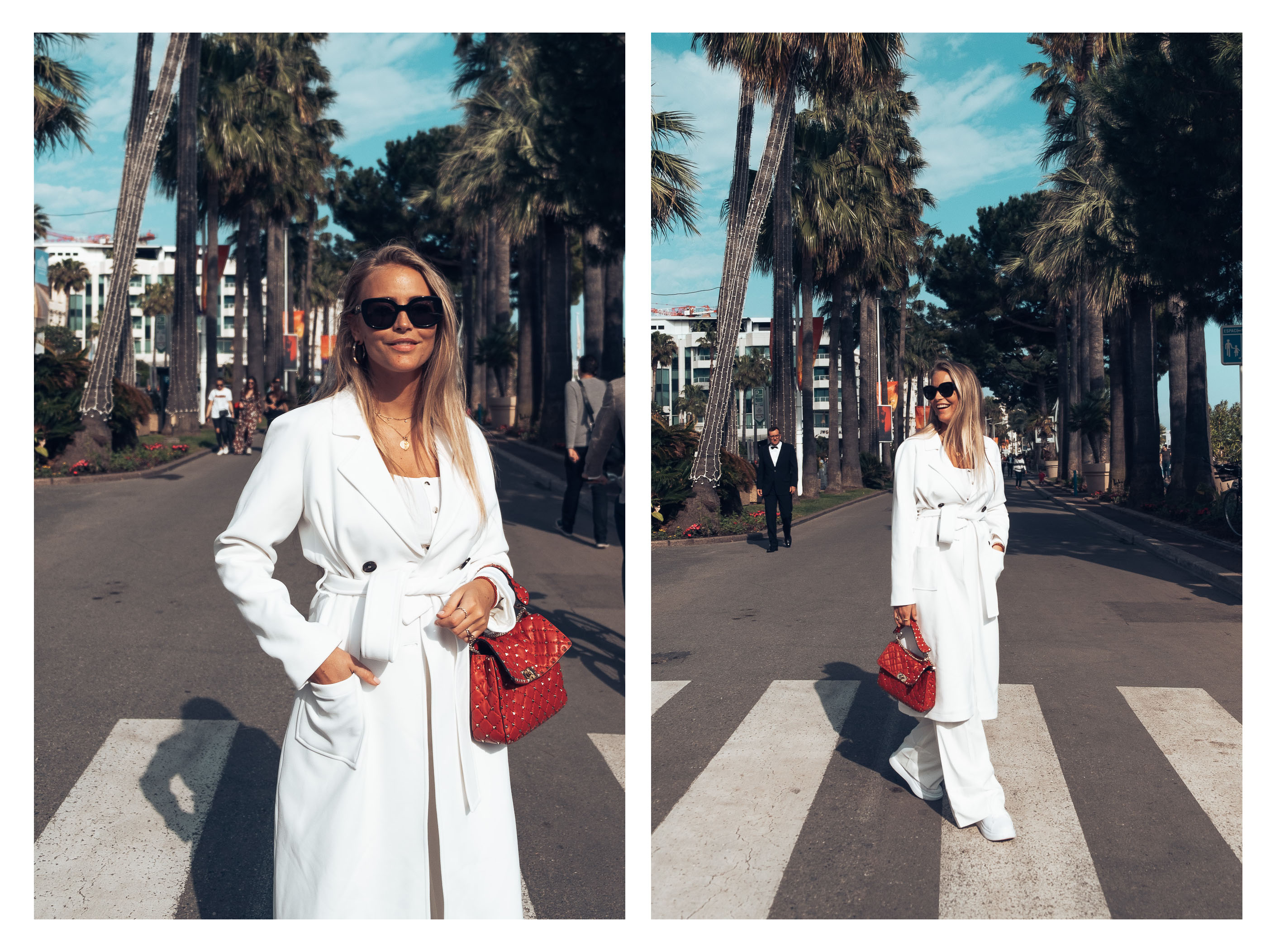 4d7aab72aa7 Sanne Alexandra jacket (here!)  Na-kd pants (here!)  Valentino bag  Nelly  shoes (here!